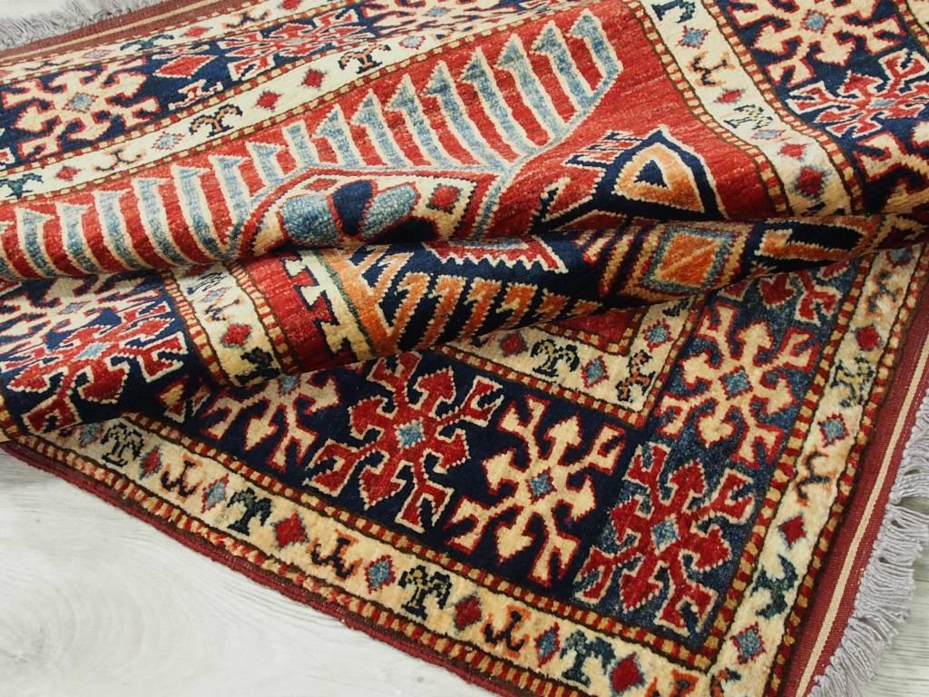 140x100 cm ein Paar kaukasische kazak Afghan orientteppich kazakh rug Carpet ziegler Nr:521