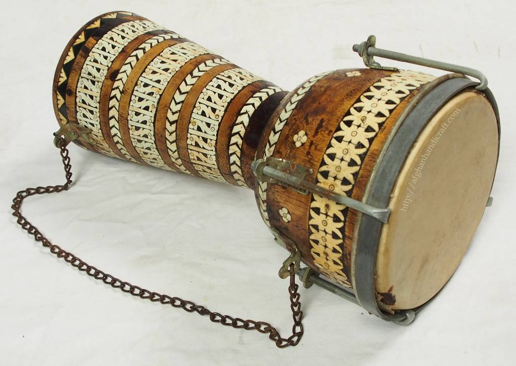 Afghan music instrument Zerbaghali No:17/A
