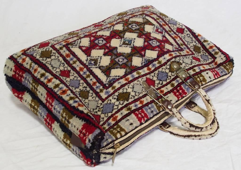 seltener handgeknüfte oreinttepich handtasche Tasche aus Afghanistan Nr:A17/124