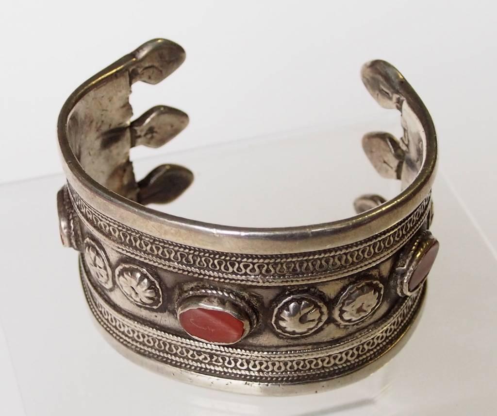 Antik Turkmenische ersari - Silber Armreif  (Bilezik) Nr:17/  370