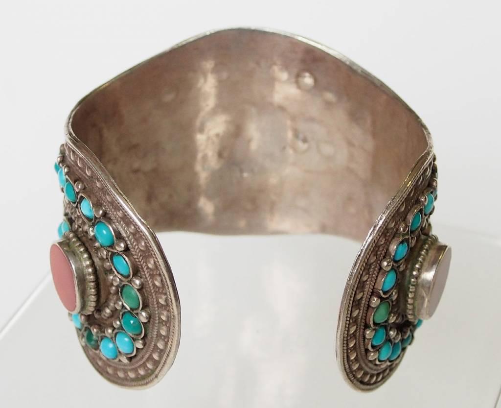 Afghan nomaden Silber Armreif  Nr:17/375