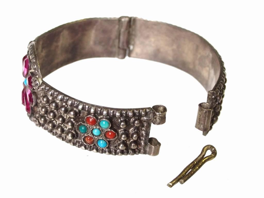 Afghan nomaden Silber Armreif  Nr:17/376