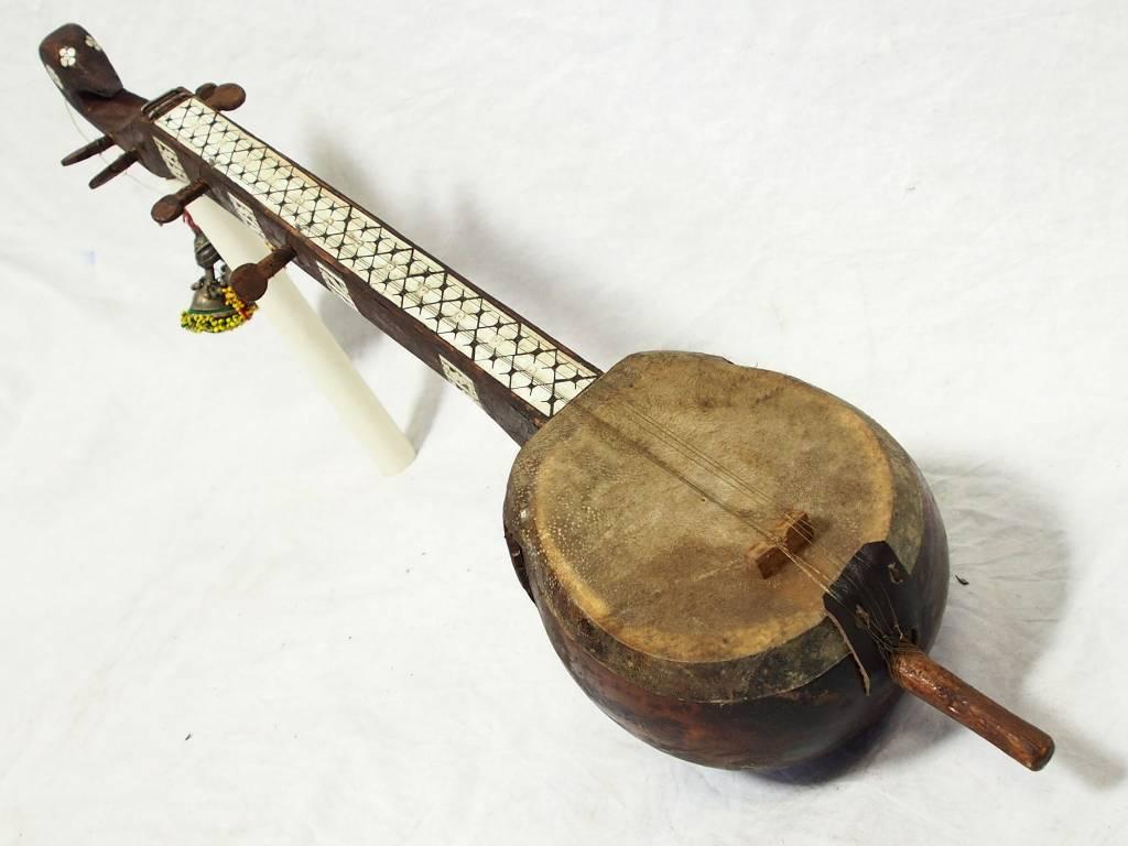 Antik Afghan musikinstrumen Saz 17/V