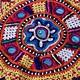 antique  silk embroidery Quran bag 18/B
