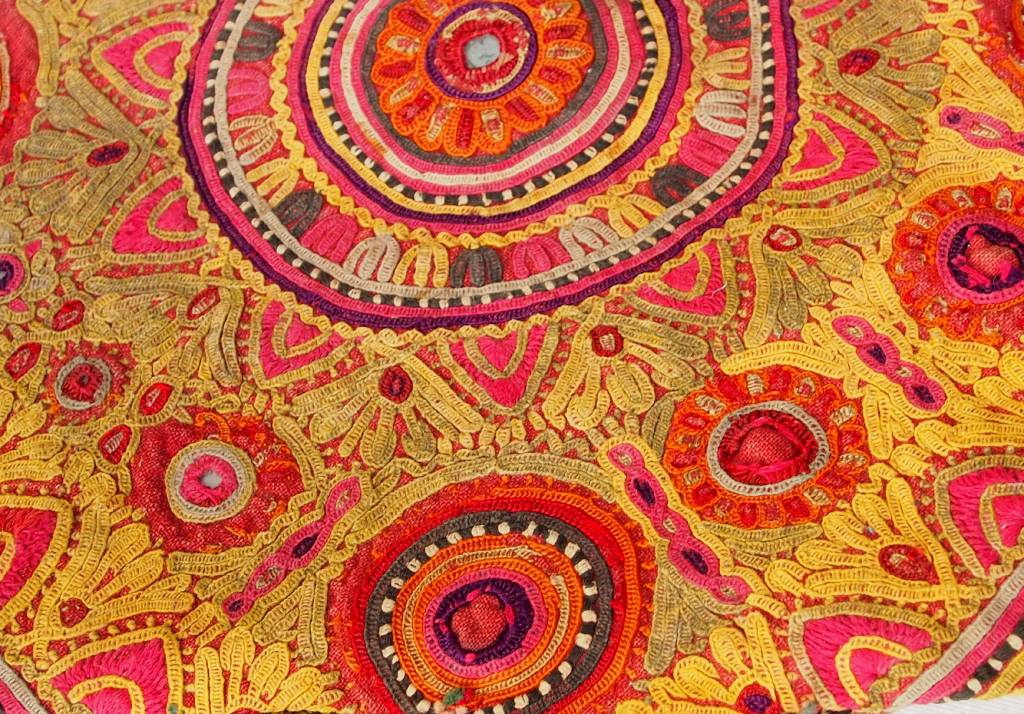 antique  silk embroidery Quran bag 18/C