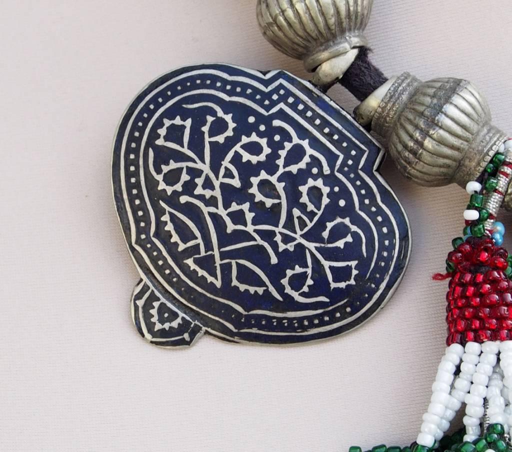 antique Multan enamelled necklace 18/3