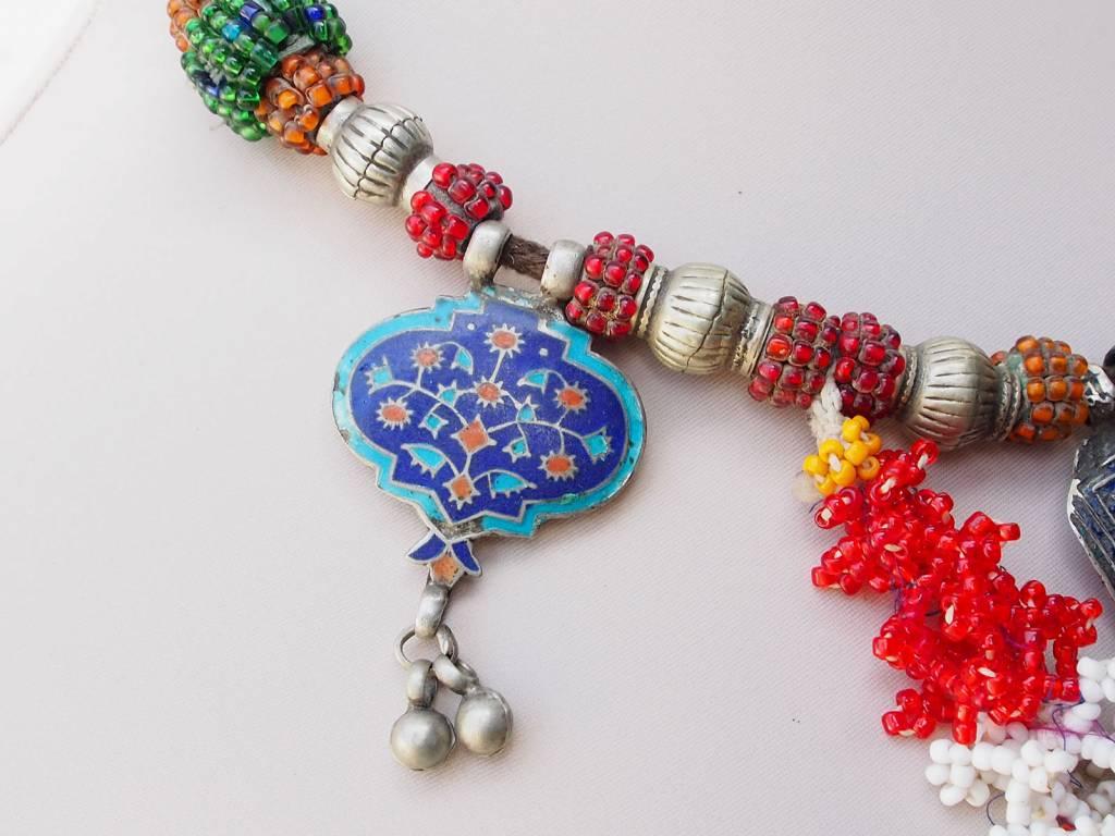 antique Multan enamelled necklace 18/5