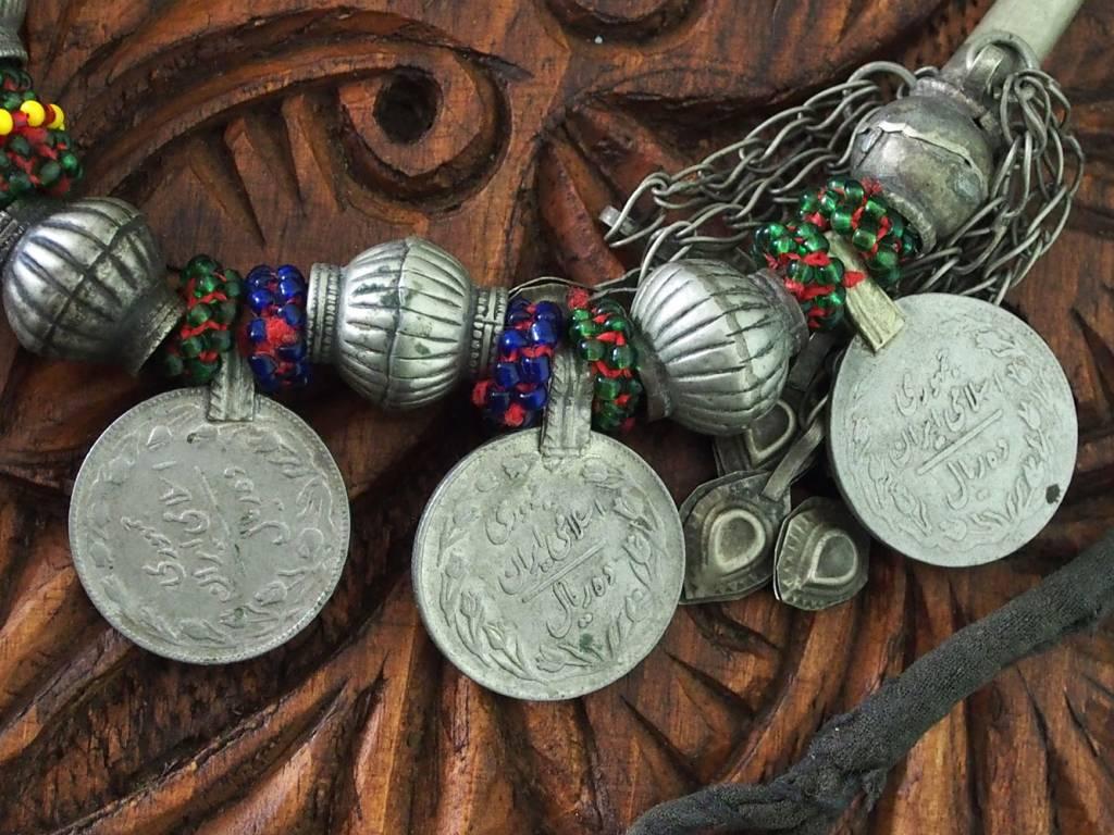 antique Multan enamelled necklace 18/6