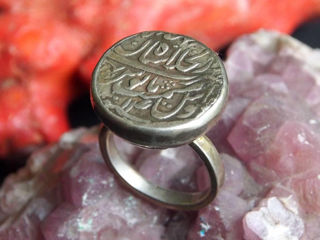 antik islamische Münzen Ring Nr:393