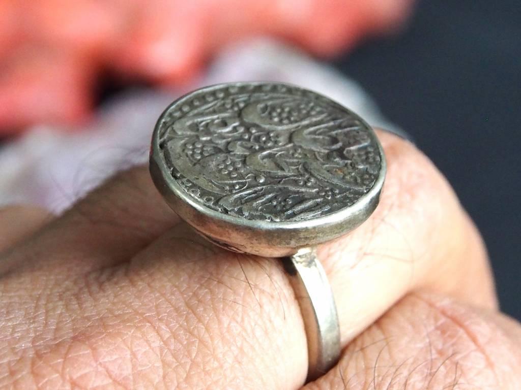antik islamische Münzen Ring Nr:399