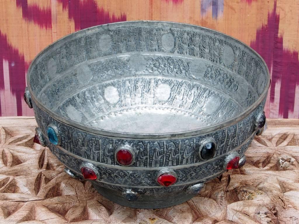 Antique islamic ,   20th century Tinned Copper Bowl No:Jam/1