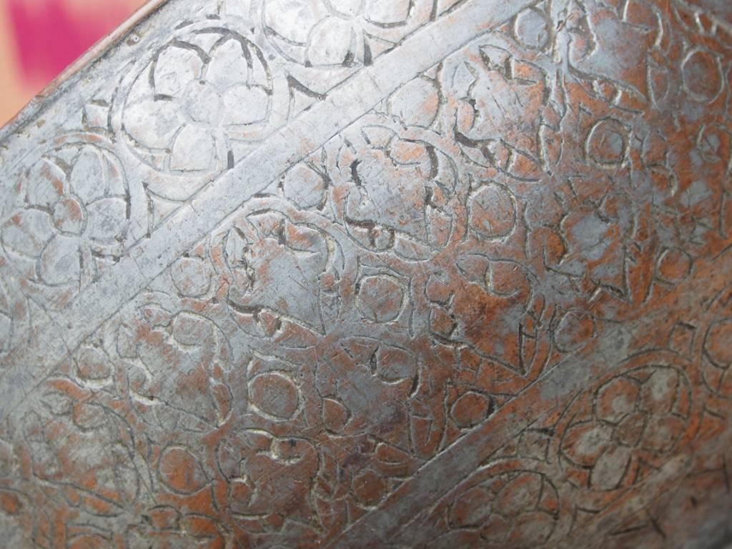 Antique islamic ,  19th century Tinned Copper Bowl No:Jam/ 13