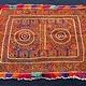antique  Katawaz  silk embroidery  Tray cloth No:18/7