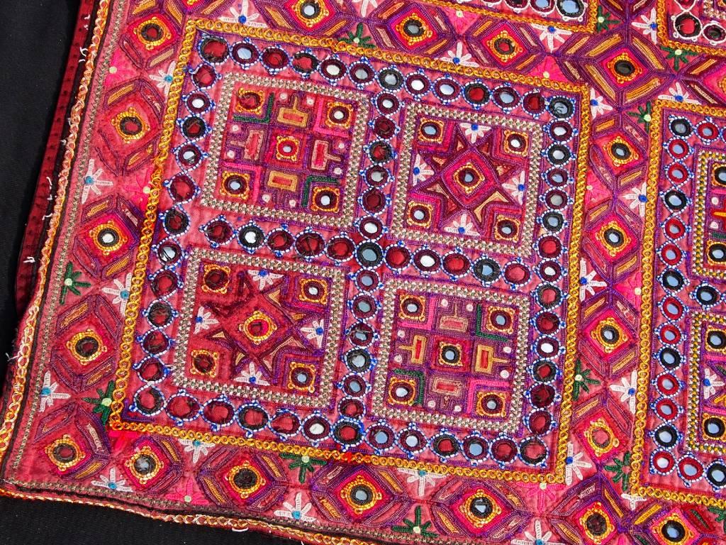 antique  Sindhi silk embroidery    No:18/18