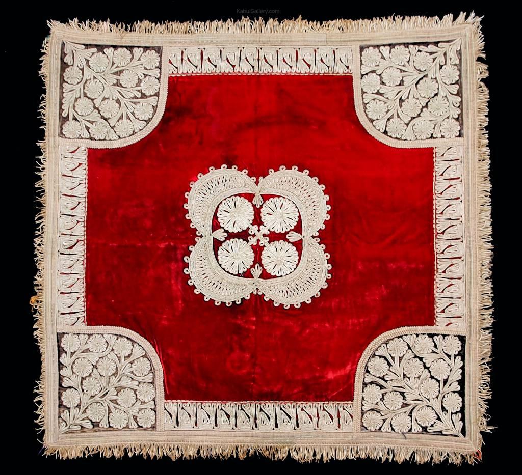 antique  Hazara velvet silk embroidery 18/19th century  No:18/23
