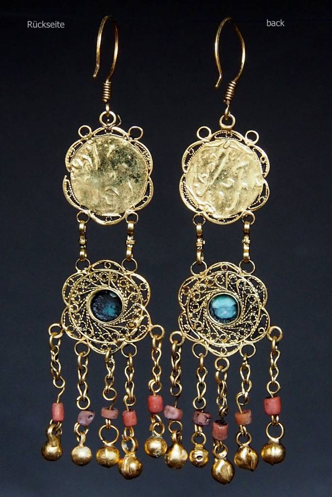traditionelle Afghanische nomaden Vintage Ohrringe Nr:18/2
