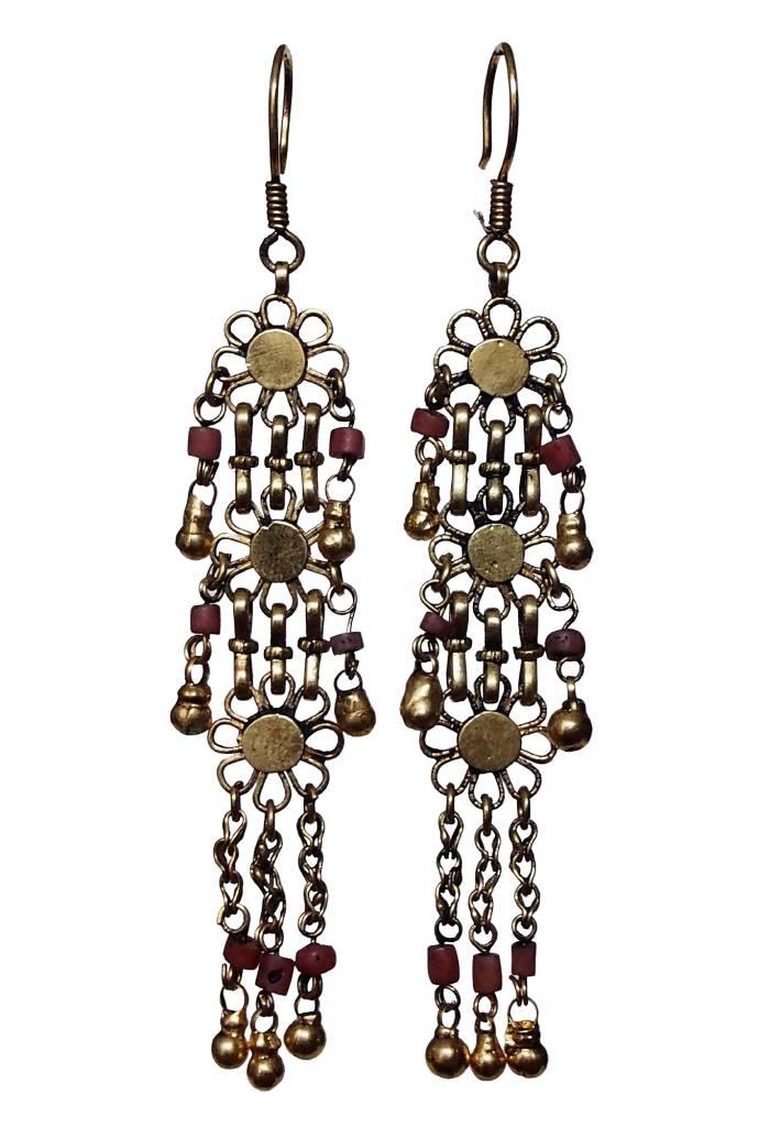 traditionelle Afghanische nomaden Vintage Ohrringe Nr:18/10