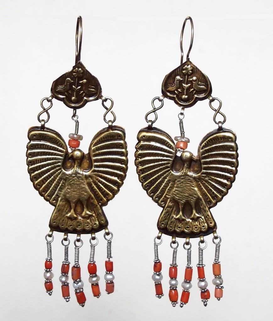 traditionelle Afghanische nomaden Vintage Ohrringe Nr:18/ 11