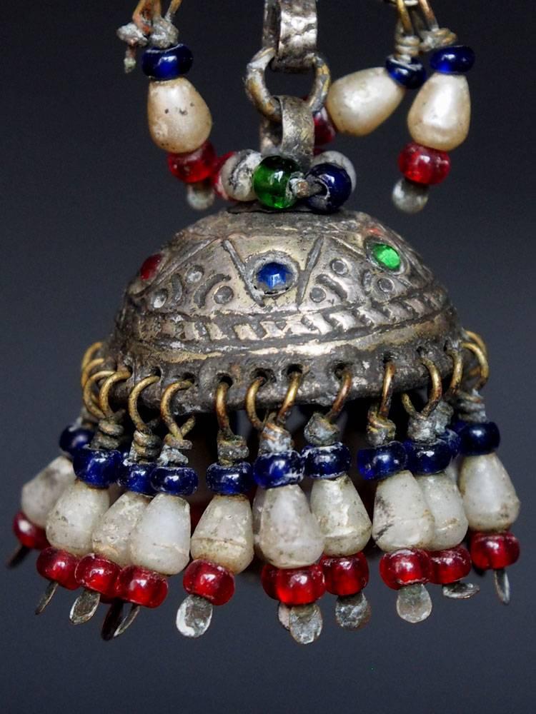 antik  nomaden  Silber Ohrringe  Nr:18/16