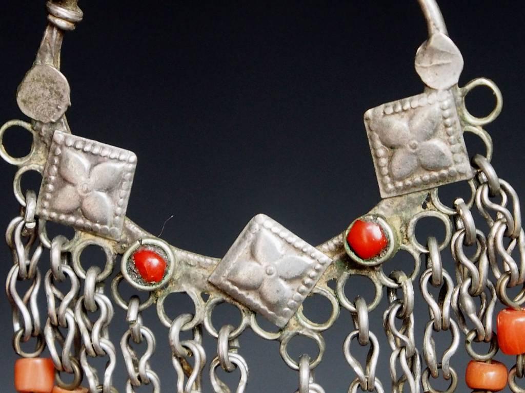 antik nomaden Silber Ohrringe Nr:18/18