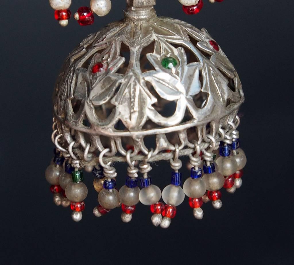 antik nomaden Silber Ohrringe Nr:18/ 25