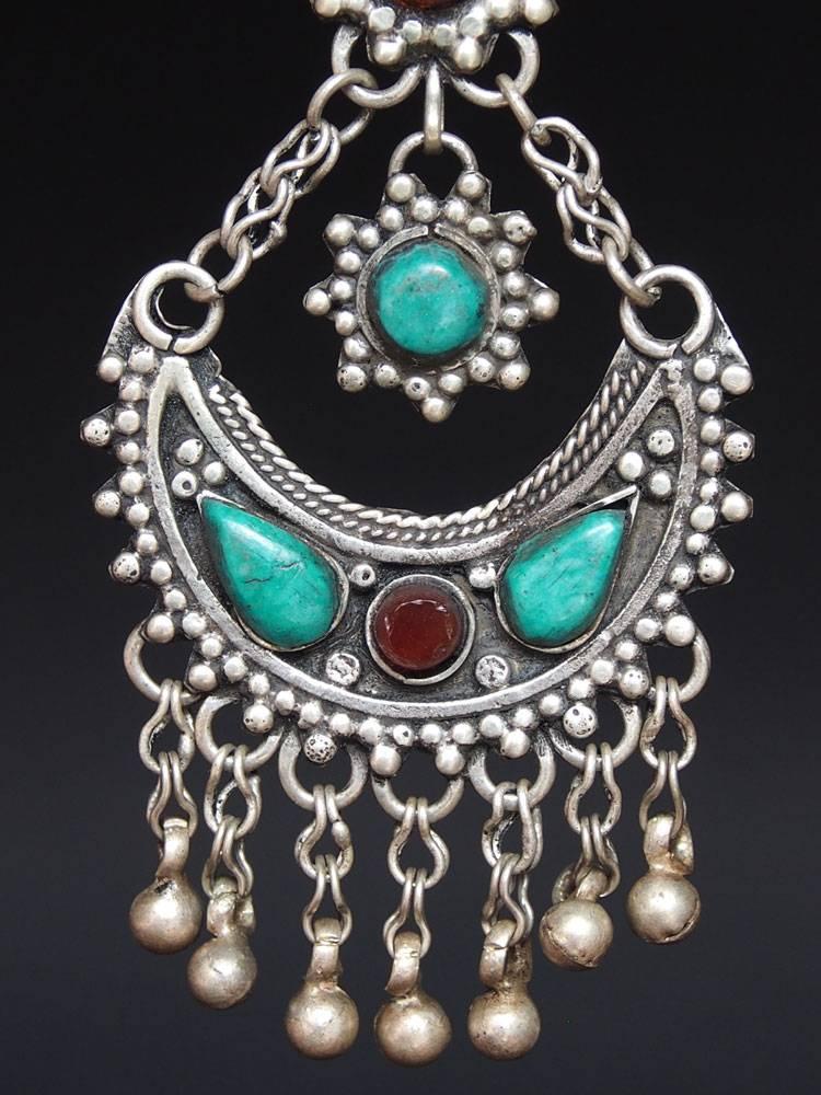 antik nomaden Silber Ohrringe Nr:18/ 28