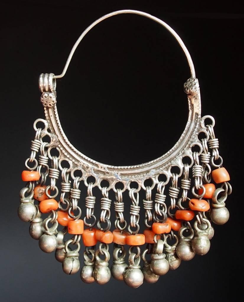 antik nomaden Silber Ohrringe Nr:18/33
