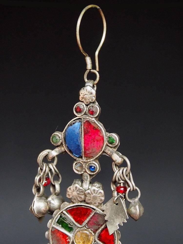antik nomaden Silber Ohrringe Nr:18/34