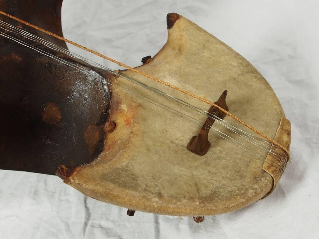Antik Afghan musikinstrumen Ghichak 18/1