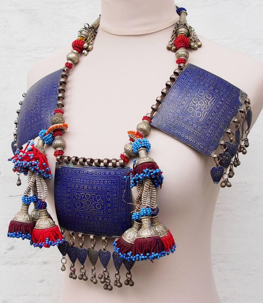 antique Multan enamelled necklace 18/8