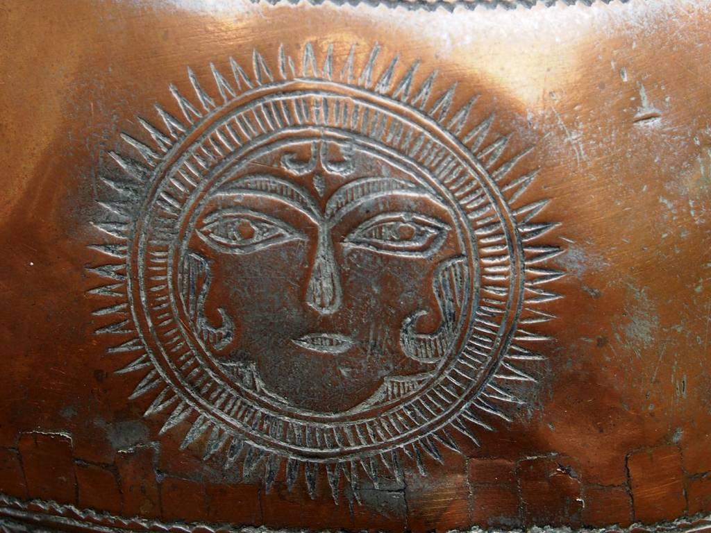 antike Kupfer Kanne Nr:18/Aref