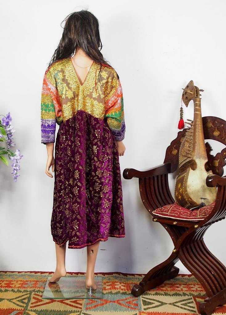 antique Banjara Woman's embroidered Dress Sindh Pakistan18/B