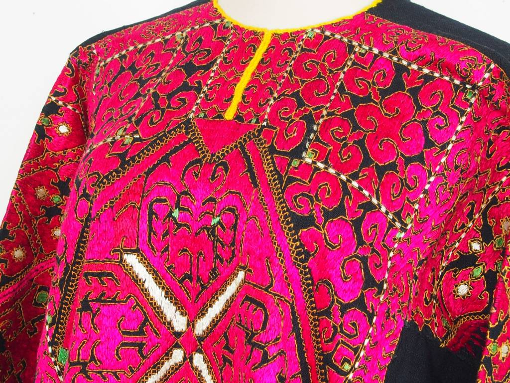 antique Woman's girl embroidered Dress from swat valley pakistan18/5