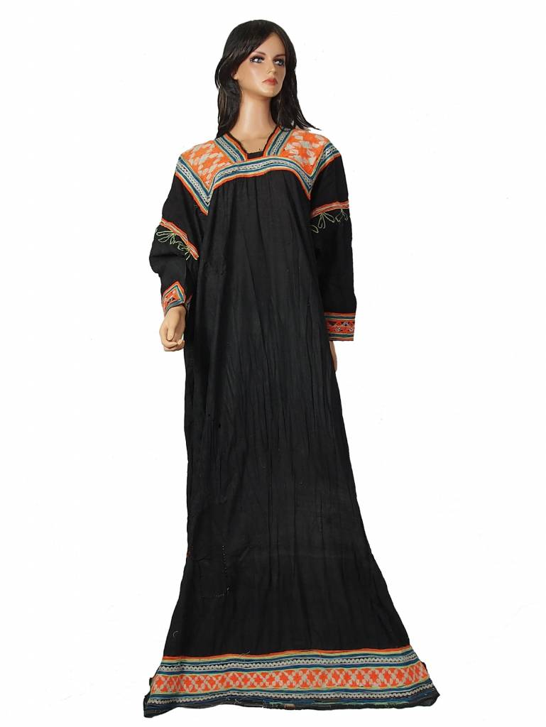 antique  Woman's embroidered Dress kalash chitral  Pakistan No:4