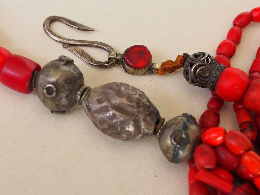 antike Glas Perlen Kette Nr:9/7