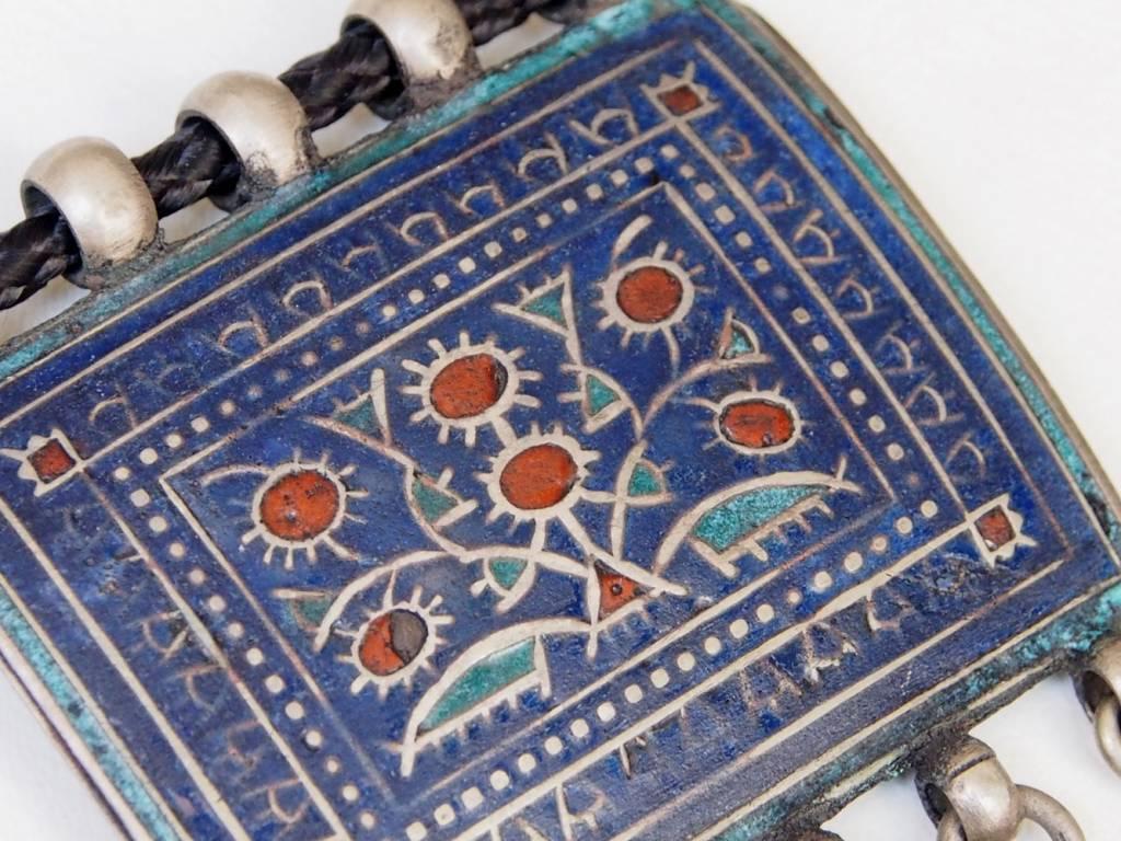 antique Multan enamelled necklace 18/11