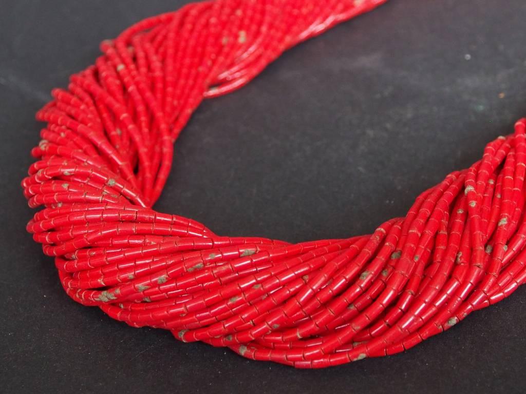 antike Glas Perlen Kette Kalash Chitral Nr:9/10