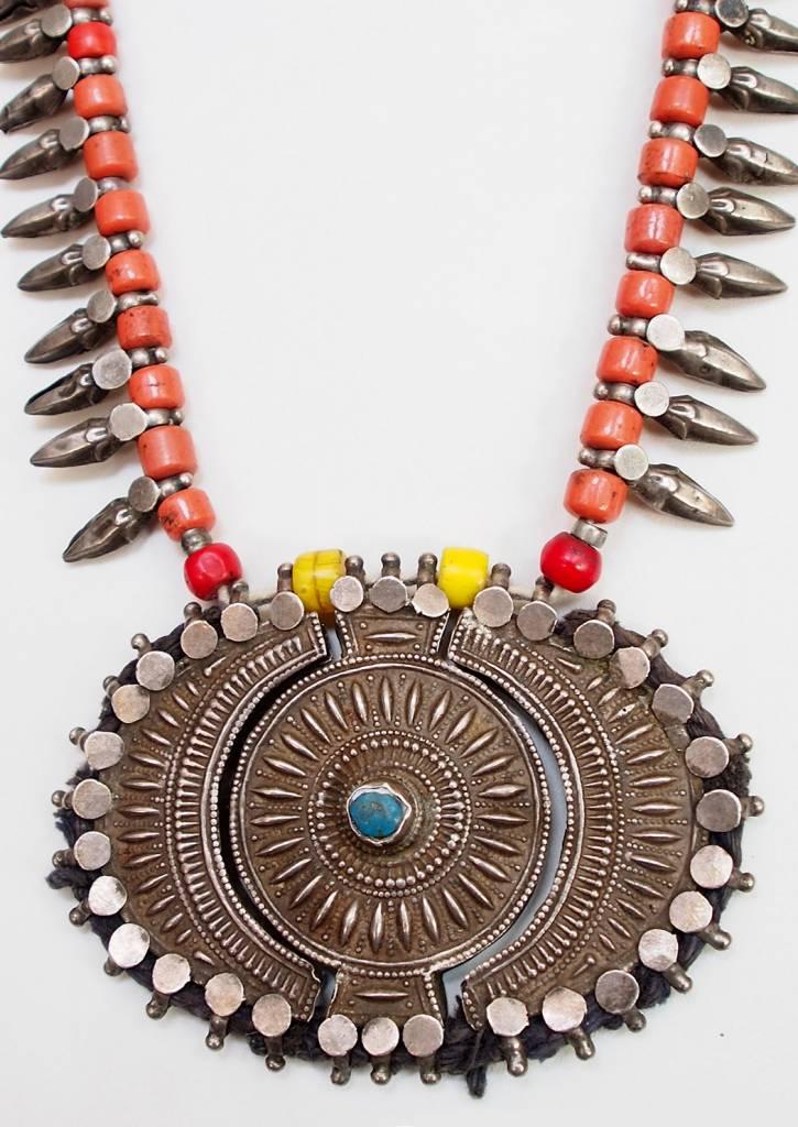 antike Hochzeit Silber Kette aus Indien Nr:9/9