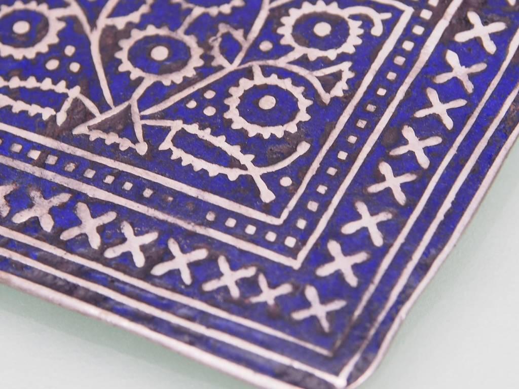 antique Multan enamelled necklace 18/12