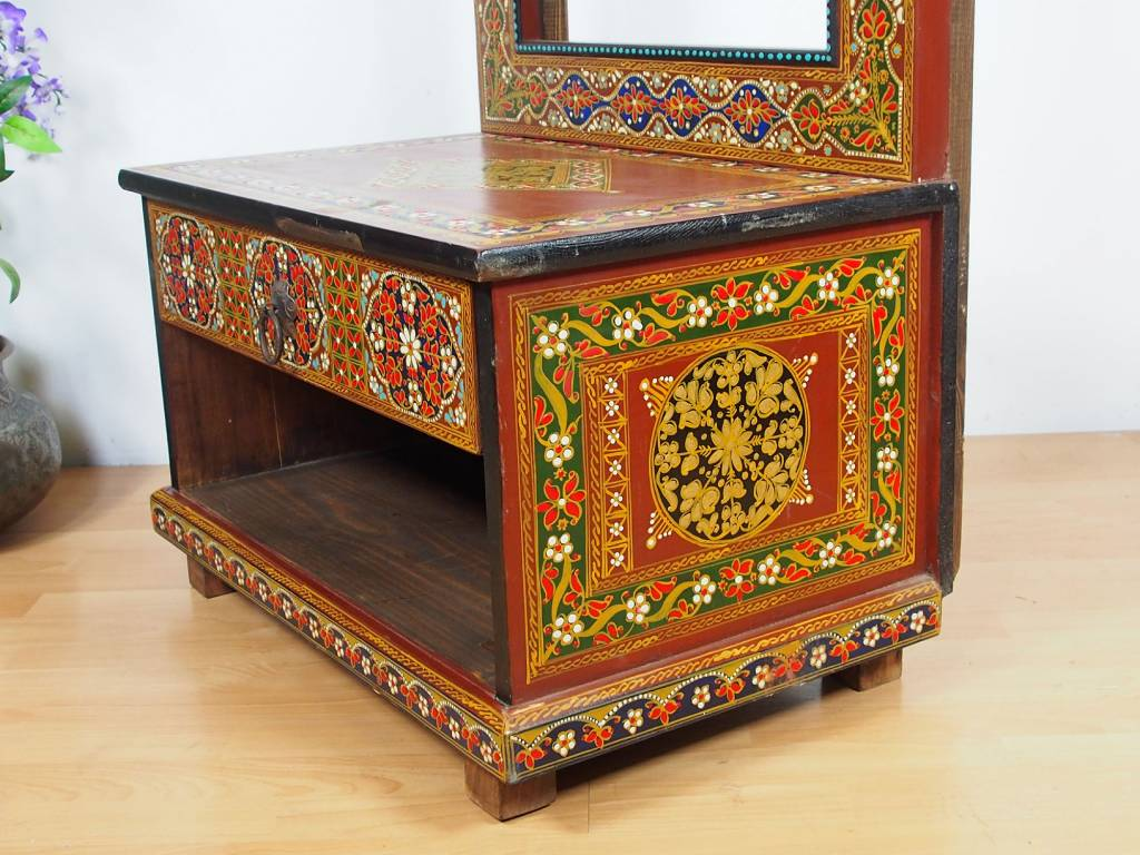Flurgarderobe Wandgarderobe  Spiegel   dressing table RAJ/1
