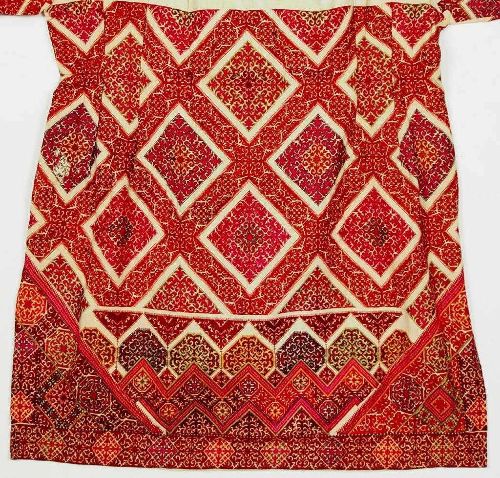 antique Woman's girl embroidered Dress from swat valley pakistan No:18/12