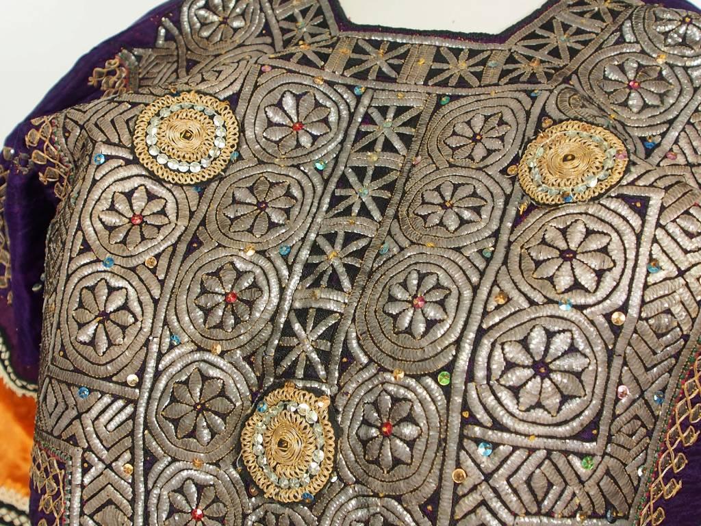 antik Orientalische  Banjara Choli Tracht Tribaldance kleid   silk Embroidery choli Dress Tribal Bellydance No:18/16