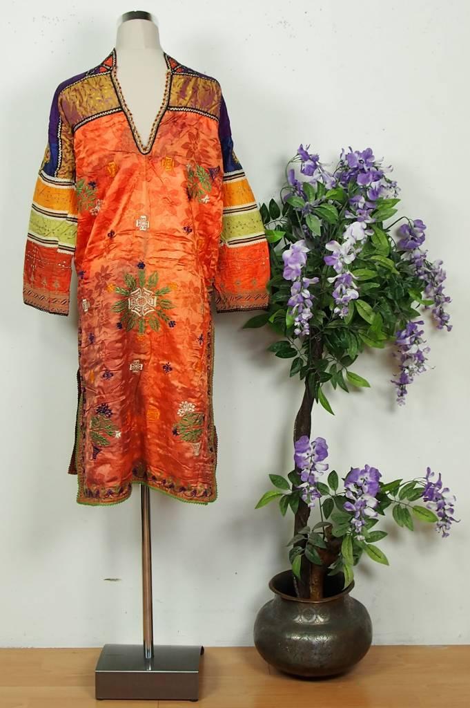 antik Orientalische  Banjara Choli Tracht Tribaldance kleid   silk Embroidery choli Dress Tribal Bellydance No:18/18