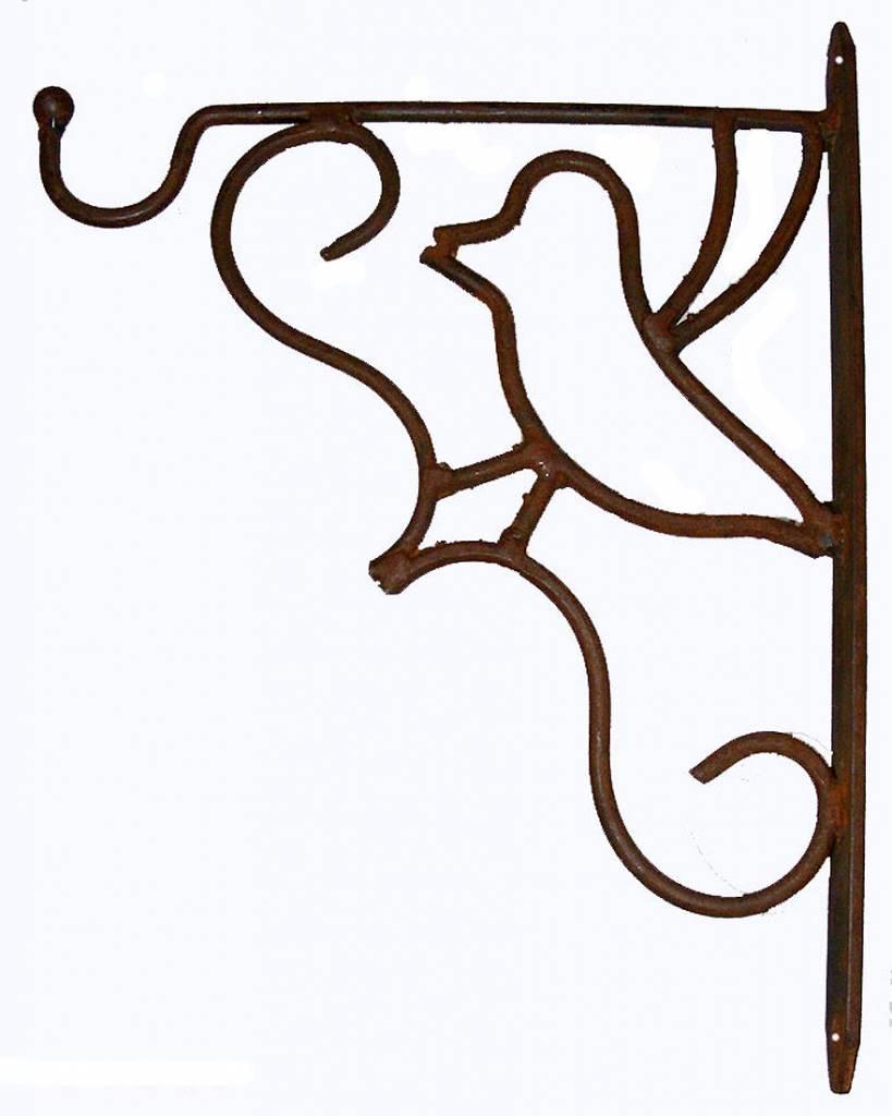 Haken Wandhalterung Blumenampel Wandhaken für Hanging Baskets Laterne Schmiedeeisen
