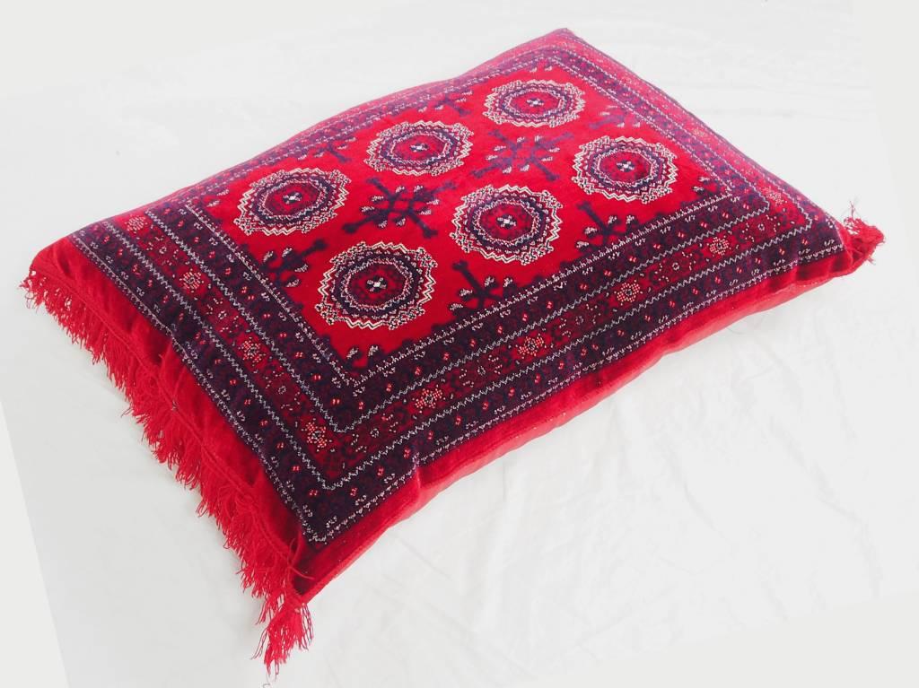 80x58 cm orient Afghan nomad rug seat cushions floor cushion pillow Turkmen 1001 night unit price (Sarouk)