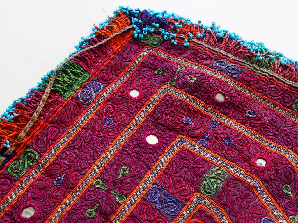 Suzani Fahrradsattel-Bezug Decke silk embroidery Afghan Bicycle saddle cover