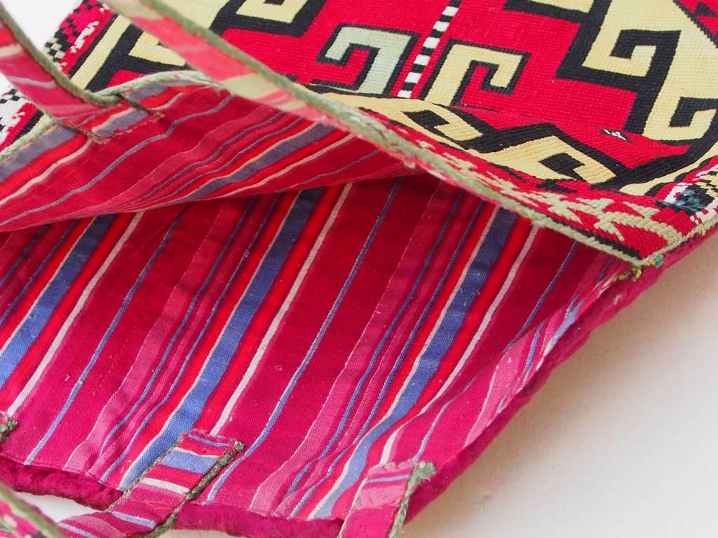 Vintage  uzbek Embroidery Quran bag  No:18/1