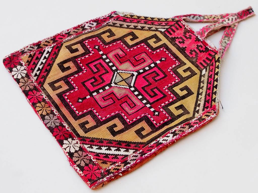 Vintage  uzbek Embroidery Quran bag  No:18/2