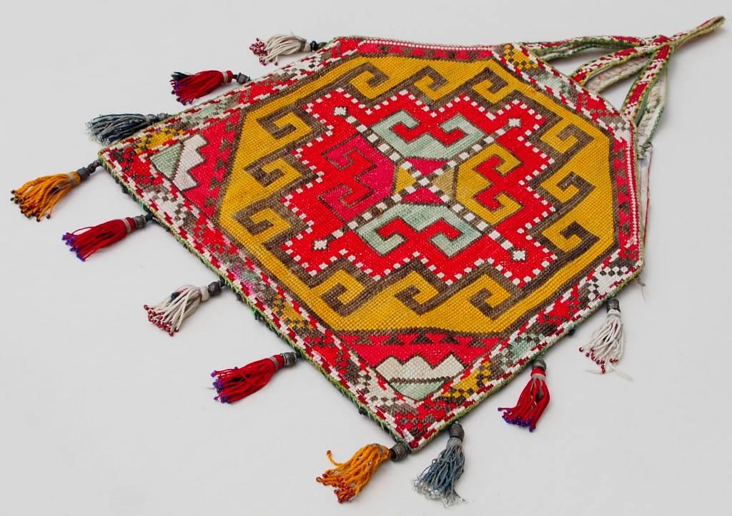 Vintage  uzbek Embroidery Quran bag  No:18/4