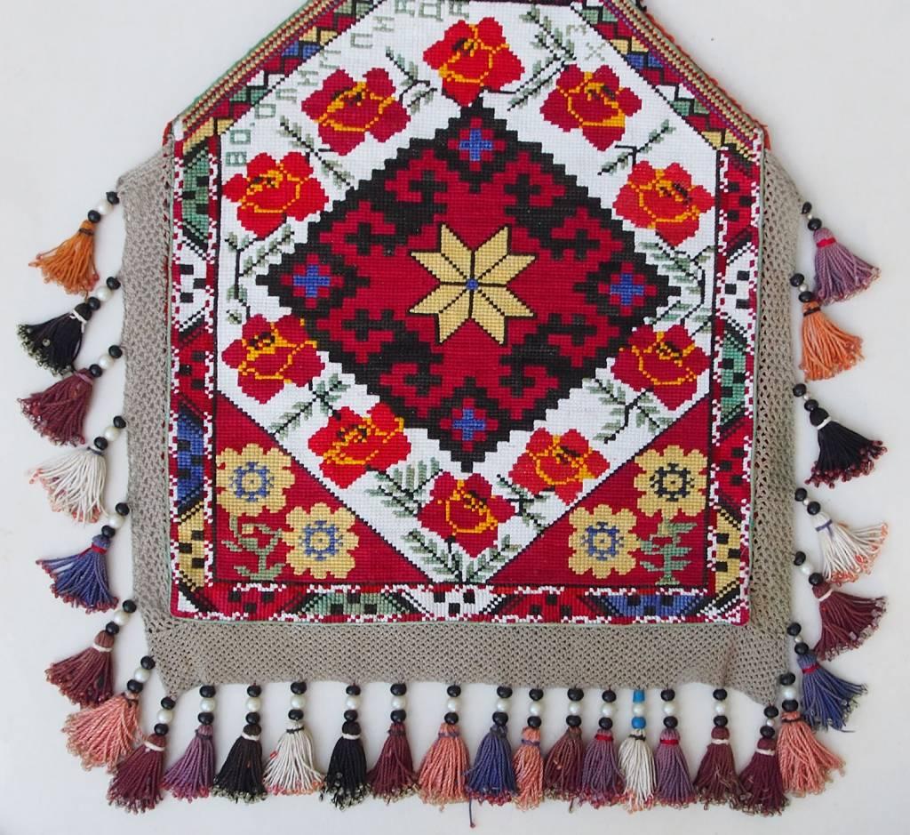 Vintage  uzbek Embroidery Quran bag  No:18/5